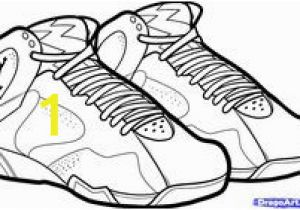 Jordan Shoes Coloring Pages Printable 10 Best Jordan Coloring Images