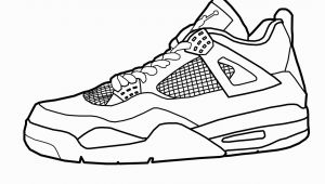 Jordan Shoes Coloring Pages Printable Jordan Shoes Coloring Pages & Imagixs Free Image