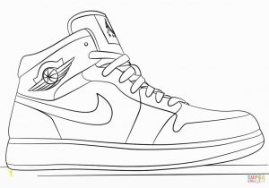 Jordan Shoes Coloring Pages Printable Nike Jordan Sportschoenen