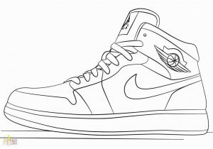 Jordan Shoes Coloring Pages Printable Pin On top Coloring Pages Ideas