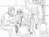 Joseph son Of Jacob Coloring Pages Joseph In Prison