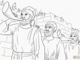 Joshua and the Battle Of Jericho Coloring Page Coloring Pages Battle Jericho Coloring Home