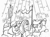 Joshua and the Battle Of Jericho Coloring Page Joshua and Jericho Coloring Pages Free Printable Coloring
