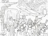 Joshua and the Battle Of Jericho Coloring Pages 16 Best Bible Joshua Images On Pinterest