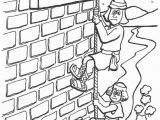 Joshua and the Battle Of Jericho Coloring Pages Coloring Pages Joshua and Rahab Sketch Coloring Page