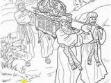 Joshua Crossing the Jordan Coloring Page 991 Best Bible Coloring Pages Images On Pinterest In 2018