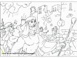 Joshua Crossing the Jordan Coloring Page Joshua and the Battle Jericho Coloring Pages Sun Stands Still
