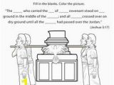 Joshua Crossing the Jordan Coloring Page the 513 Best Children S Church Ideas Images On Pinterest In 2018
