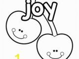 Joy Fruit Of the Spirit Coloring Page 1431 Spirit Free Clipart 13