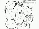Joy Fruit Of the Spirit Coloring Page Peace Fruit the Spirit Coloring Page Fruit Of Clip