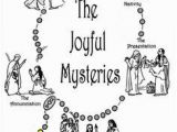 Joyful Mysteries Coloring Pages 207 Best Catechism Images On Pinterest