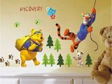 Jungle Adventure Wall Mural Bear Vigny Tiggers Jungle Adventure Three Generation Removable Child Bedroom Decorative Sticker Wall Buy Bear Vigny Tiggers Jungle Adventure Three