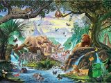 Jungle Adventure Wall Mural Jungle Five