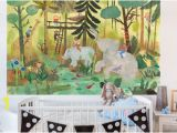 Jungle Adventure Wall Mural Wall Mural Decals & Wall Stickers