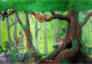 Jungle Book Mural Rainforest Mural by Kchan27 On Deviantart