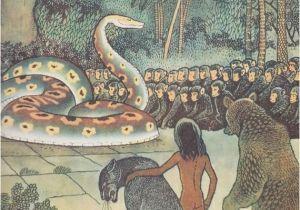 Jungle Book Mural Rudyard Kipling the Jungle Book Mowgli Story Drawings by