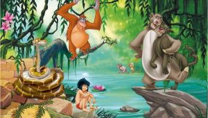 Jungle Book Wall Mural Details About Xl Wallpaper Mural Jungle Book Mogli