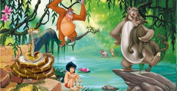 Jungle Book Wall Mural Details About Xl Wallpaper Mural Jungle Book Mogli