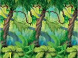 Jungle Book Wall Mural Jungle Wall Scene Shoot Background