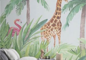 Jungle Mural for Children S Room Con Habitaciones O Esta La Imaginaci³n No Tiene Lmites