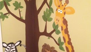 Jungle Murals for Nursery Jungle Wall Mural Hand Painted =]