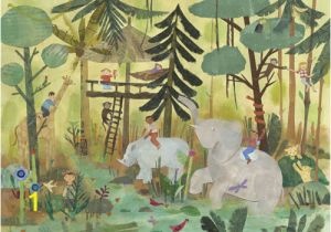 Jungle Safari Wall Mural Safari Swing Wall Mural by Oopsy Daisy