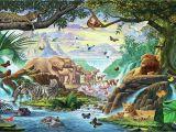 Jungle Scene Wall Mural for Mural