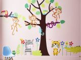 Jungle theme Wall Murals Children S Tropical Jungle Wall Sticker Set by Parkins Interiors