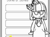 Junie B Jones Coloring Pages Junie B Jones Jingle Bells Batman Smells P S so Does May