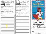 Junie B Jones Coloring Pages Prehension Tri Fold Junie B Jones is Captain Field Day by Barbara Parks
