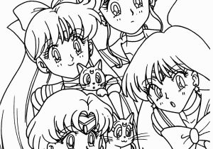 Jupiter Printable Coloring Pages Sailor Venus Jupiter Mercure Luna Artemis Et Sailor Mars