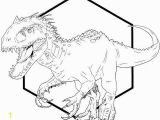 Jurassic Park T Rex Coloring Pages Indominus Rex Dino Coloring Printable Sheet