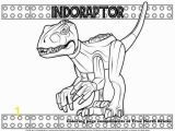 Jurassic World Printable Coloring Pages Coloring Page Indoraptor
