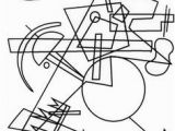 Kandinsky Coloring Pages 14 Best Coloriage Images On Pinterest