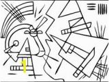 Kandinsky Coloring Pages 194 Best Printables Images On Pinterest