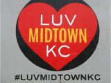 Kansas City Wall Murals Luv Midtown Kc Wall 3945 Main St Kansas City Mo
