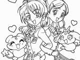 Kawaii Anime Girl Coloring Pages Cute Anime Chibi Girl Coloring Pages Beautiful Printable Coloring