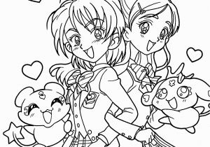 Kawaii Anime Girl Coloring Pages Cute Anime Chibi Girl Coloring Pages Beautiful Printable Coloring