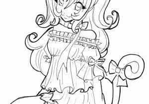 Kawaii Anime Girl Coloring Pages Cute Anime Chibi Girl Coloring Pages Best Witch Coloring Page
