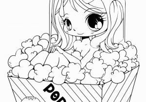 Kawaii Anime Girl Coloring Pages Cute Anime Chibi Girl Coloring Pages Lovely Witch Coloring Page