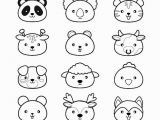 Kawaii Cute Coloring Pages Coloriage Animaux Kawaii   Imprimer   Animaux Coloriage