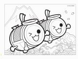 Kawaii Disney Characters Coloring Pages Taiko No Tatsujin Coloring Sheets
