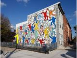 Keith Haring Berlin Wall Mural 14 Best Street Football Images