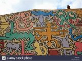 Keith Haring Berlin Wall Mural Keith Haring Stock S & Keith Haring Stock Page