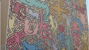 Keith Haring Wall Mural Keith Haring Mural In Pisa Italy