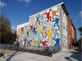 Keith Haring Wall Mural Keith Haring Mural We the Youth Restored In Philadelphia