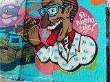 Kendrick Lamar Wall Mural Graffiti Art On Harrison Street In Oakland California Rap