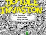 Kerby Rosanes Coloring Pages Doodle Invasion by Zifflin and Kerby Rosanes