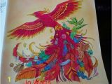Kerby Rosanes Coloring Pages Kerby Rosanes Animorphia Phoenix by Joanne Watts In 2019