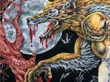 Kerby Rosanes Coloring Pages More Details Added to Mythomorphia Werewolf Kerbyrosanes